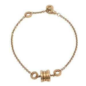 Bvlgari B.Zero1 18K Yellow Gold Soft Station Bracelet