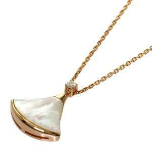Bvlgari Divas' Dream 18K Rose Gold, Diamond, Mother of Pearl Necklace