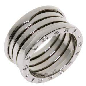 Bvlgari B.Zero1 18K White Gold Ring EU 55