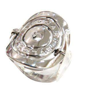 Bvlgari Astrale 18K White Gold Ring EU 67