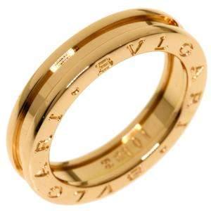 Bvlgari B.Zero1 18K Rose Gold Ring EU 56