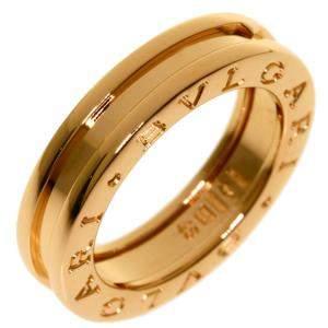 Bvlgari B.Zero1 18K Rose Gold Ring EU 48