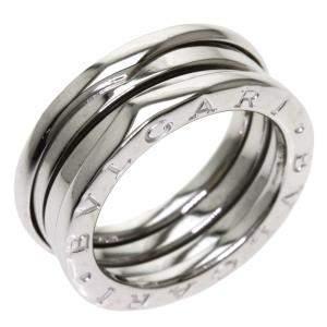 Bvlgari B.Zero1 18K White Gold Ring EU 51