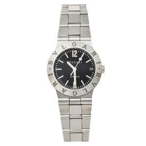 ساعة يد نسائية بلغاري دياغونو LC 29 S أوتوماتيك ستانلس ستيل سوداء 29 مم