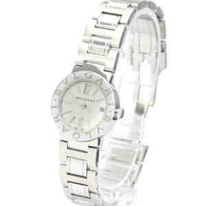 Bvlgari White Stainless Steel Bvlgari Bvlgari BB23SS Women's Wristwatch 22 MM