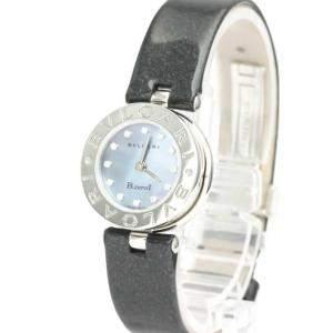 Bvlgari Blue MOP Stainless Steel BZ22S B-Zero1 Women's Wristwatch 22 MM