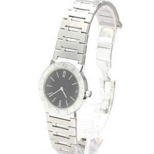Bvlgari Black Stainless Steel Bvlgari Bvlgari BB30SS Quartz Women's Wristwatch 30 MM