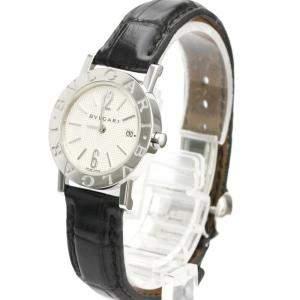 Bvlgari Silver Stainless Steel Bvlgari BB26SL Quartz Women's Wristwatch 26 MM