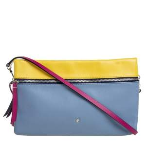 Carolina Herrera Multicolor Leather Crossbody Bag
