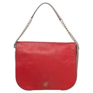 CH Carolina Herrera Multicolor Leather Baltazar Shoulder Bag