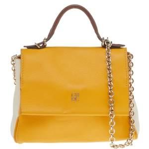 حقيبة كارولينا هيريرا مينيتو جلد متعددة الألوان بيد علوية
