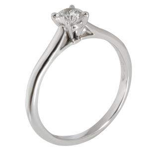 Cartier Solitaire 1895 Diamond Engagement Platinum Ring Size EU 52