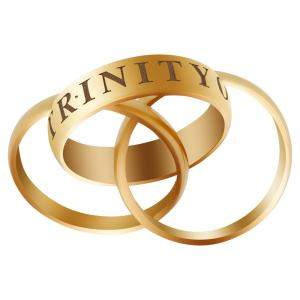 Cartier 18K Yellow Gold Or Amour Et Trinity Ring Size EU 52