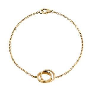 Cartier Love Screw Motif 18K Yellow Gold Bracelet