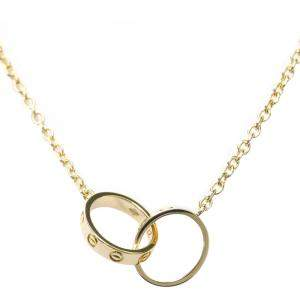 Cartier Love 18K Yellow Gold Necklace