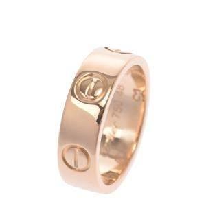 Cartier Love 18k Yellow Gold Ring Size EU 48