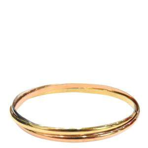 Cartier Trinity 18K Yellow, Rose, White Gold Bracelet