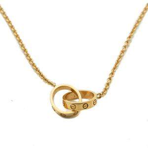 Cartier Love Yellow Gold Necklace