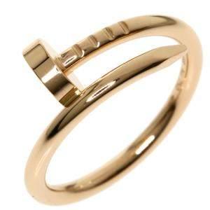 Cartier Juste Un Clou 18K Rose Gold Ring Size EU 47