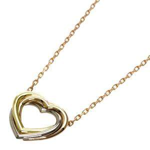 Cartier Trinity 18K Yellow, Rose, White Gold Necklace