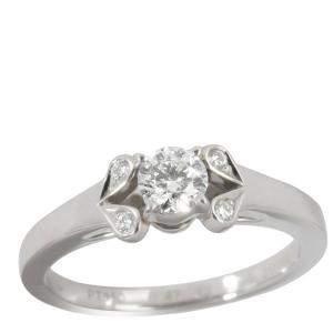 Cartier Ballerine Platinum Diamond Engagement Ring Size EU 47