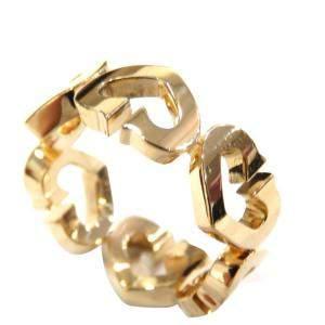 Cartier Heart 18K Yellow Gold Ring EU 50.5