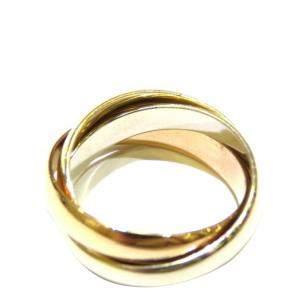 Cartier Trinity 18K Yellow, Rose, White Gold Ring EU 50