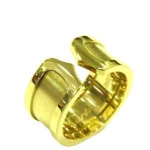 Cartier Double C 18K Yellow Gold Ring EU 52
