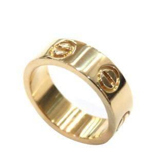 Cartier Love 18K Yellow Gold Ring EU 47