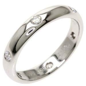 Cartier Stella 18K White Gold Diamond Ring EU 55
