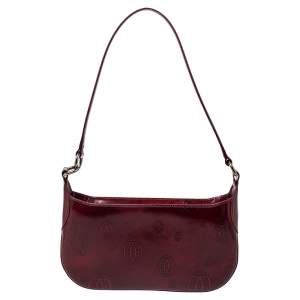 Cartier Red Patent Leather Happy Birthday Baguette Bag