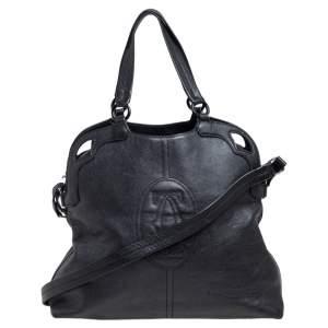 حقيبة يد كارتييه مارسيلو دي كارتييه جلد أسود