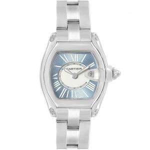 Cartier Two Tone Stainless Steel Roadster W62053V3 Women's Wristwatch 36MM