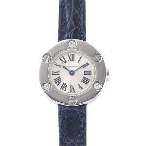Cartier White 18K White Gold Love WE800131 Women's Wristwatch 23 MM