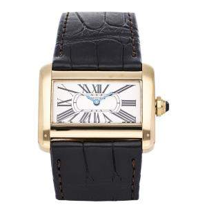 Cartier Tank Divan Mini W6300356 Women's Wristwatch 31.5mm x 25mm