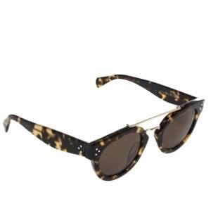 Céline Brown Havana/Yellow CL41043/S Round Sunglasses