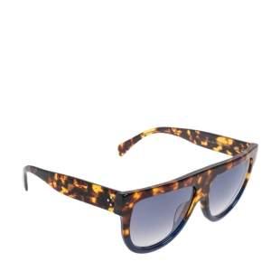 Celine Havana/Blue 41026/S Gradient Wayfarer Sunglasses