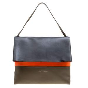 Celine Tri Color Leather All Soft Bag