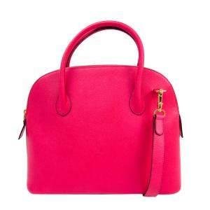 Celine Pink Leather Vintage Satchel Bag