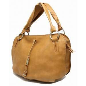 Celine Yellow Leather Bittersweet Hobo Bag