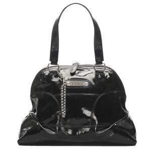 Celine Black Patent Leather Shoulder Bag