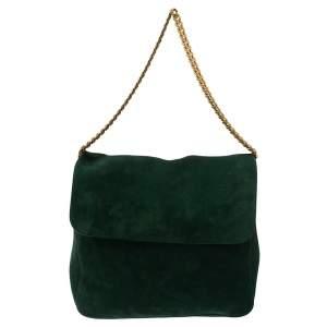 حقيبة كتف سيلين غورمت سويدي خضراء