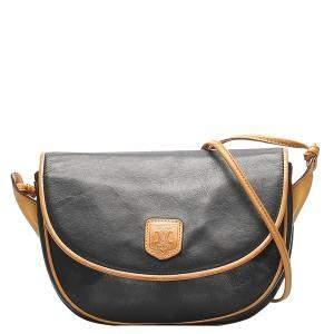 Celine Black Leather Bag