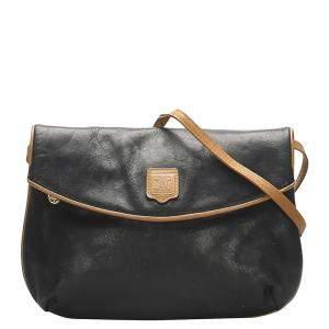 Celine Black Leather Vintage bag