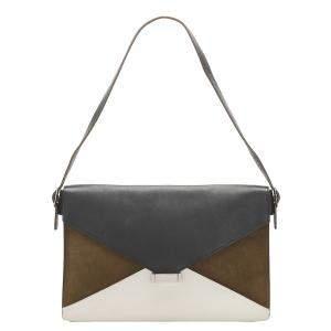 Celine Multicolor Leather Diamond Bag