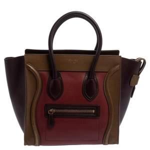 حقيبة يد توتس سيلين لاغيدج مايكرو جلد ثلاثي اللون