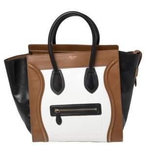 حقيبة يد توتس سيلين لاغيدج ميني جلد ثلاثي اللون