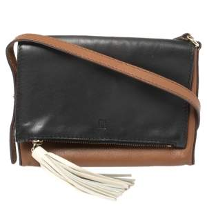 Carolina Herrera Multicolor Leather Flap Shoulder Bag