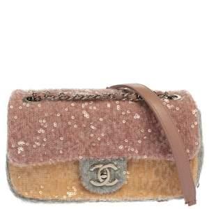 Chanel Multicolor Sequin Flap Bag