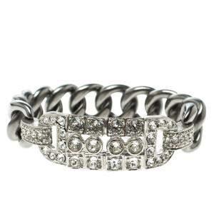 Chanel Crystal Chain Link Bracelet